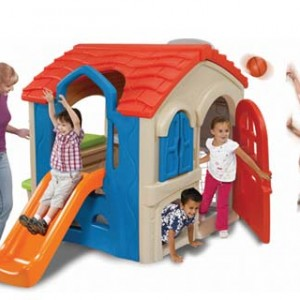 Wriggle n Slide Playhouse