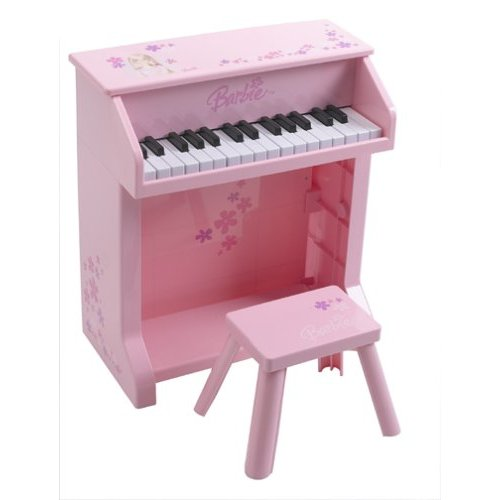 barbie Upright Piano with Bench