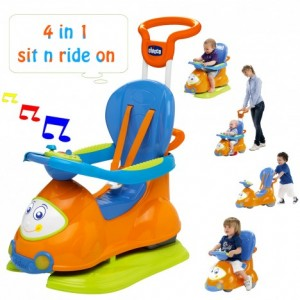 chicco quattro 4 in 1 sit n ride on -1