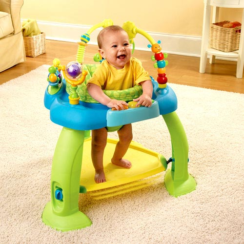 BS Bounce Bounce Baby Activity Zone Backyard