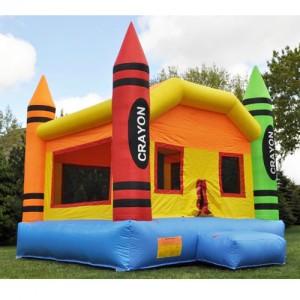 Crayon Bounce House1