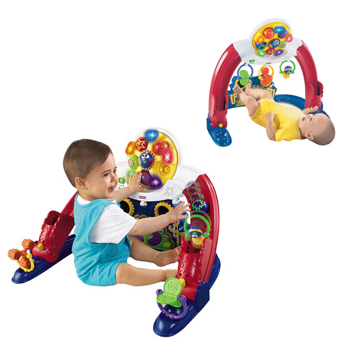 Fisher Price Kick n Whirl Carnival Playgym2