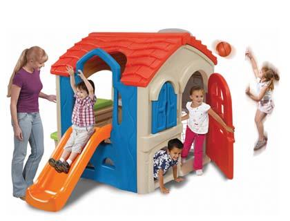 Wriggle n Slide Playhouse